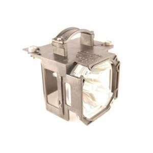 Mitsubishi 915P043010 replacement rear projector TV lamp with housing
