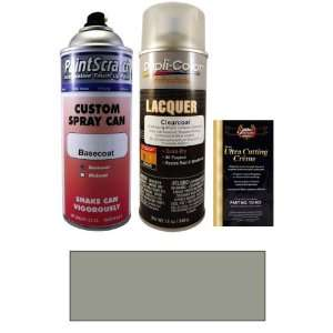 12.5 Oz. Cashmere Silver Metallic Spray Can Paint Kit for