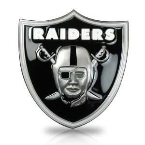 Raiders 3D Logo Trailer Tow Hitch Cover, Official Licensed Automotive