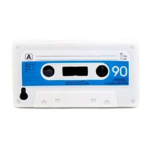 Super Realistic Retro White Cassette Tape Flexible