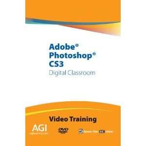 Adobe Photoshop CS3 Digital Classroom Training (DVD ROM