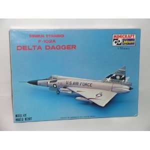 General Dynamics F 106A Delta Dart  Plastic Model Kit Everything Else