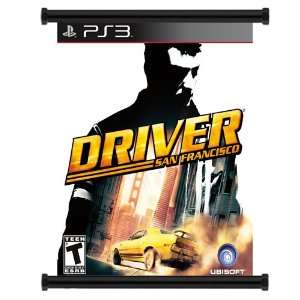 Driver San Francisco Game Fabric Wall Scroll Poster (16