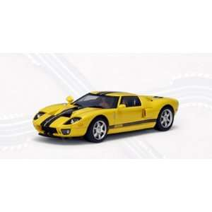 Ford 2004 GT Yellow (Part 13082) Autoart 132 Slot Car Automotive