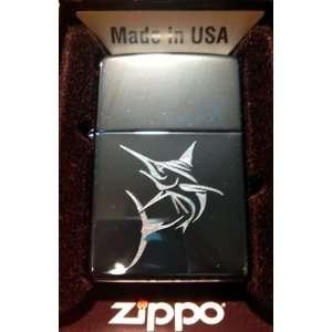 Zippo Custom Lighter   Deep SEA Fishing Marlin Sword Fish