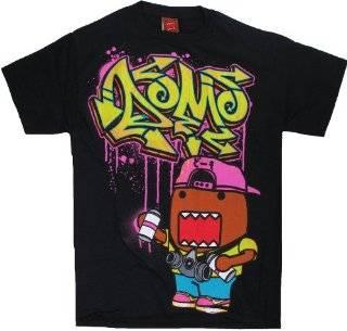Domo Graffiti Tagger Mens Black T Shirt Explore similar