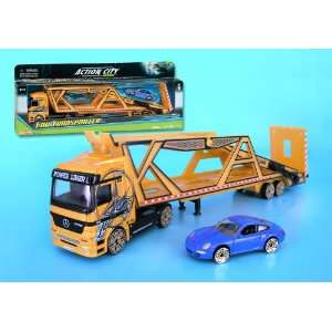 : Action City Nano Car Transporter W/1 Car 1/72 (**): Everything Else