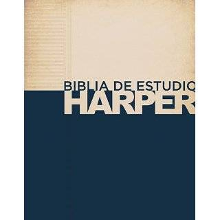 Biblia de estudio Harper: Tapa dura (Spanish Edition) Hardcover by