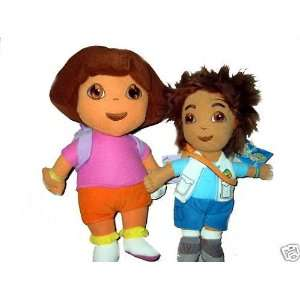the Explorer and Go Diego Animal Rescue Plush Doll