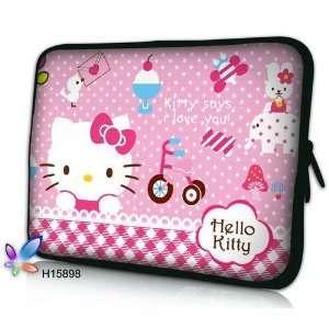 Hello Kitty 15.4 Laptop Sleeve pink hello kitty
