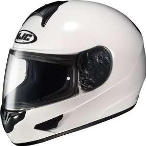 HJC CL 16 Full Face Motorcycle Helmet White XXXL 3XL 904