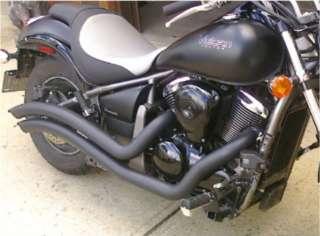 Kawasaki Vulcan VN 900 Custom & Classic VN900 Cobra® BLACK Swept
