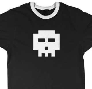 bit skull shirt   SCOTT PILGRIM vs comic Cera ringer