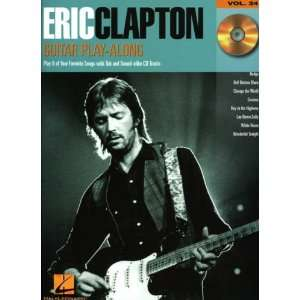 Hal Leonard Eric Clapton Guitar Play Along Series Book