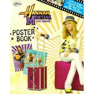 Disney Hannah Montana Poster Book (Hannah Montana the Movie