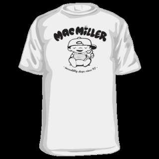 MAC MILLER T SHIRT HIP HOP DOPE RAP UNDERGROUND RARE