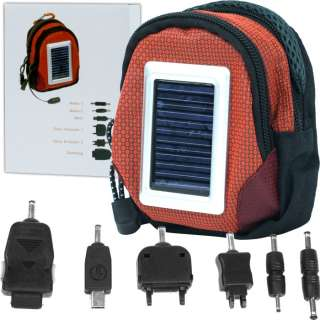 Solar Power Charger Bag for Cell Phone and Other