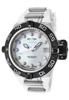 Invicta Womens 0538 Subaqua Noma IV White Mother of Pearl Dial Watch