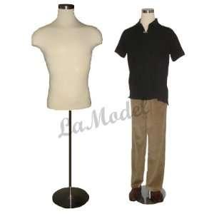 Male Half Body Dress Form Mannequin