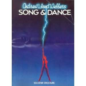 SONG & Dance Souvenir Brochure LONDON: Andrew Lloyd Webber: Books