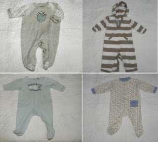 LOT BABY INFANT CLOTHES BOY SIZE 3 6 MONTHS ~ 65 pc Gymboree, Gap, Old