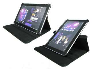 Rotating Leather Samsung Galaxy Tab 10.1 P7510 7500 Case Swivel Stand