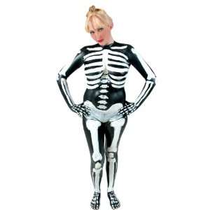 Latex Fashions Skeleton Body Paint Costume