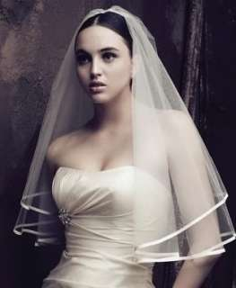 1T Layer 145cm Cathedral In White Ivory Wedding Bridal Veil BV06