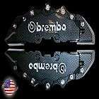 NEW MUST SEE BIG CARBON FIBER BREMBO RACING STYLE BRAKE DUST CALIPER