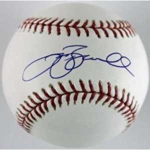 Signed Jeff Bagwell Baseball   Oml Tri Star #6125120