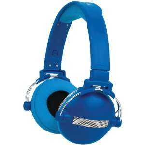 Merkury Innovations M HL590 Urban Beatz Headphones (Blue): Electronics
