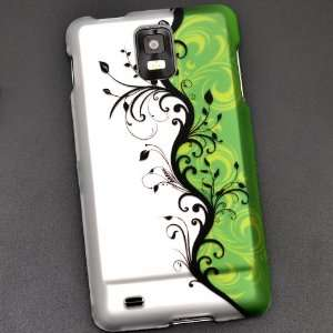 Artistic Green Vine Rubberized Coating Premium Snap on