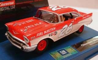 30584 1957 chevy bel air coupe race version 1 32 scale slot car