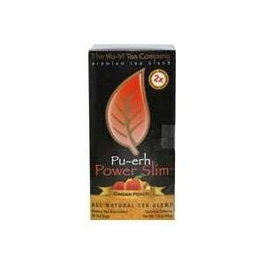 Wu Yi Pu Erh Power Slim Ginger Peach Tea 25 Tea Bags