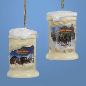 Club Pack of 12 Budweiser Clydesdale Horse Beer Mug