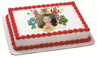 Yo Gabba Gabba Party in My Tummy ~ Edible Image Icing Cake Topper
