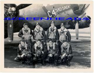 WWII US AIR FORCE BOMB SQUADRON NOSE ART AIRPLANE PHOTO