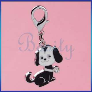 Pet Tag Dog Cat Rhinestone Collar Charm Flower/Doggie/Paw/Bone