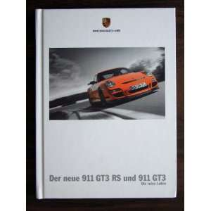 Porsche 911 GT3 and 911 GT3 RS Hardcover. German Text. DR