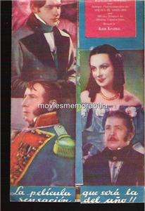 EL CEMENTERIO DE LAS AGUILAS, THE EAG MOVIE HERALD 1939