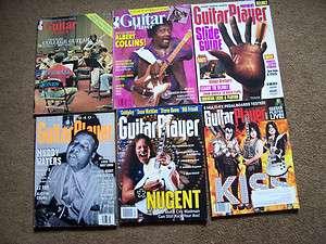 Guitar Player Magazine lot of 6 1980 88 94(2) 2002 2009