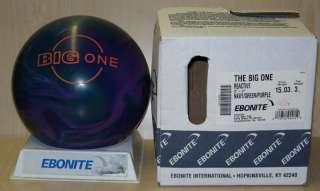 rfs NIB(New In Box) Bowling Ball 2006 Ebonite THE BIG ONE 15