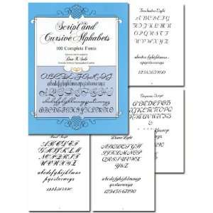 Script and Cursive Alphabets Tattoo Book: Everything Else