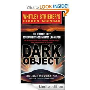 Dark Object The Worlds Only Government Documented UFO Crash Don