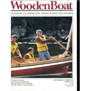 WoodenBoat. Wooden Boat. Magazine. September October 1993. Number 114