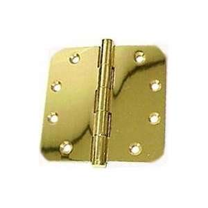 Solid Brass Polished Chrome Full Mortise Door Hinge