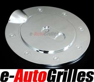 07 12 Chevy Silverado+HD+GMC Sierra+HD Chrome Fuel Gas Cap Door Cover