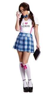 Fun World Costumes Womens I Love Nerds Costume: Clothing