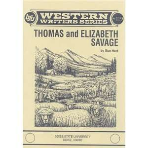 Thomas and Elizabeth Savage (Boise State University
