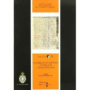 sur lHuile Africaine (9788447532575): Abdellatif Mirabet: Books
